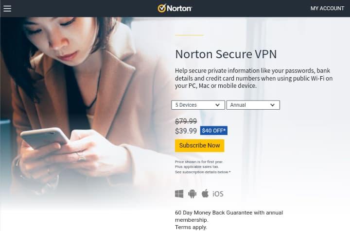 Norton Secure VPN