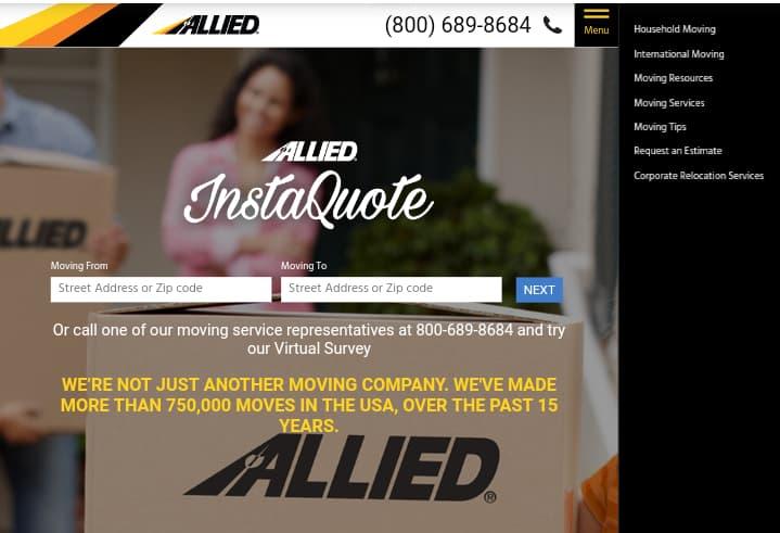 Allied Van Lines—Best Moving Companies
