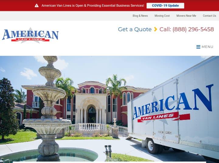 American Van Lines—Best Moving Companies