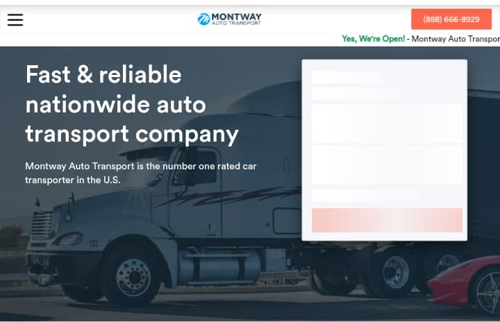Montway Auto Transport—Best Moving Companies