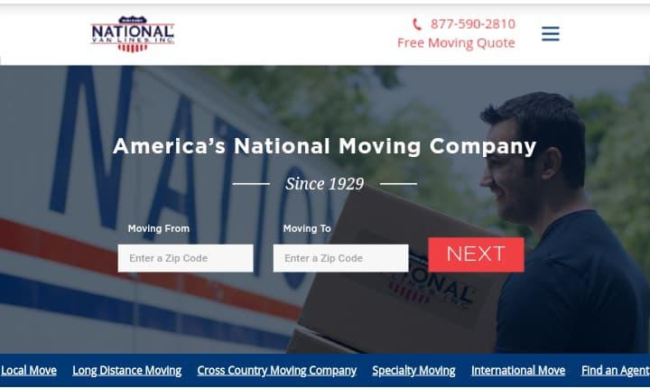 National Van Lines—Best Moving Companies
